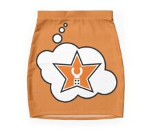 Customize My Minifig Brand Trade Mark Logo by Bubble-Tees.com Mini Skirt