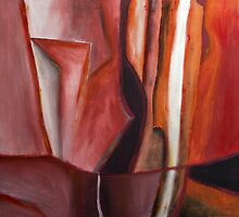Ingredients (diptych part b) by Margo Humphries