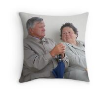 Remind Me How Much We're Enjoying Ourselves Throw Pillow