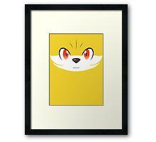 Pokemon - Fennekin / Fokko Framed Print