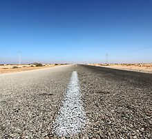 Long Road Ahead - Western Sahara by helenlloyd
