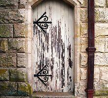 Church Door by Deb  Savage