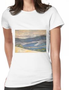 Wandering Womens Fitted T-Shirt