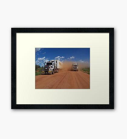 Tilmouth well road Framed Print