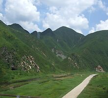 an incredible North Korea landscape by beautifulscenes