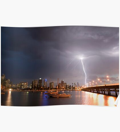 Passing Storm Poster