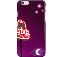 lights in the sky above the arby's iPhone Case/Skin