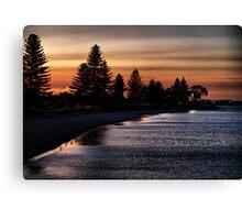 Dusk - Palm Beach Western Australia Canvas Print