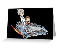 Great Scott !!! Greeting Card
