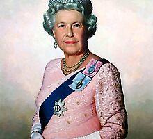 Queen Elizabeth by allspp
