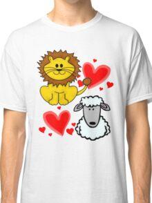 Lion Lamb Love Classic T-Shirt