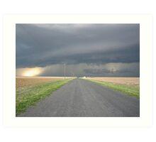 Colorado Super Cell Storm Art Print