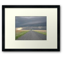 Colorado Super Cell Storm Framed Print