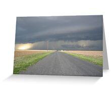 Colorado Super Cell Storm Greeting Card