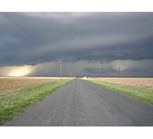 Colorado Super Cell Storm Photographic Print