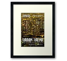Expo Photo - Urban Trend Framed Print