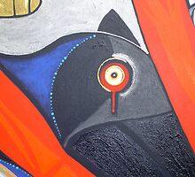 raven red tear by arteology