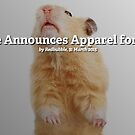 Redbubble Announces Apparel for Hamsters by Redbubble Community  Team