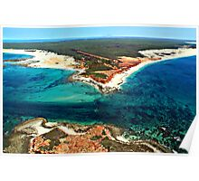 Cape Leveque from above Poster