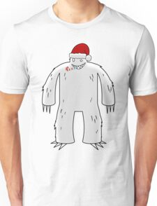 Yeti Claus Unisex T-Shirt