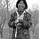 Shepherd woman by Joozu