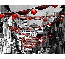Chinatown, Singapore Photographic Print