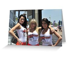 Three Hooters Greeting Card