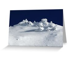 Treble Cone Summit Greeting Card