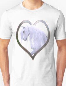 Heart Enchantment .. The gentle horse T-Shirt