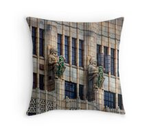 Medieval Guardians Throw Pillow