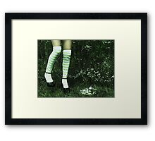 it finds me.  Framed Print