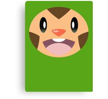 Pokemon - Chespin / Harimaron Canvas Print