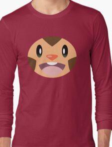Pokemon - Chespin / Harimaron Long Sleeve T-Shirt
