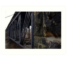 Bridge Trestle Art Print