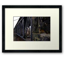 Bridge Trestle Framed Print