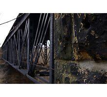 Bridge Trestle Photographic Print