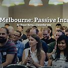 Dribbble Meetup Melbourne: Passive Income for Designers by Redbubble Community  Team