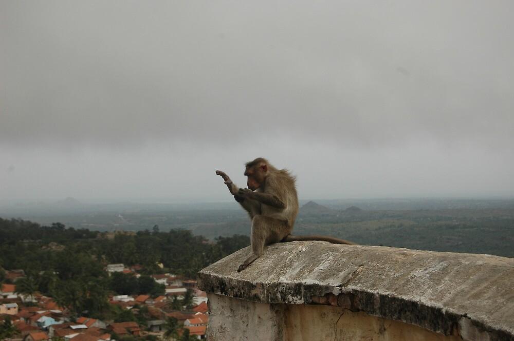 doing yoga by pugazhraj