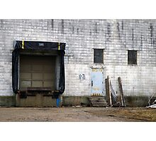 Loading Dock Photographic Print