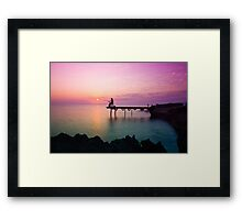 Cyprus sunrise Framed Print