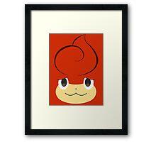 Pokemon - Pansear / Baoppu Framed Print
