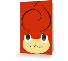Pokemon - Pansear / Baoppu Greeting Card