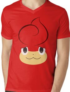 Pokemon - Pansear / Baoppu Mens V-Neck T-Shirt
