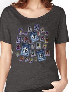Persona Cards Scatter! Women's Relaxed Fit T-Shirt