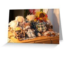 The Dolls Story... Greeting Card