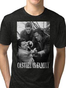 Castiel is family Tri-blend T-Shirt