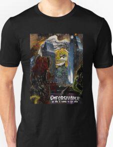 The Unforgivable San Diego Comic Com poster design T-Shirt