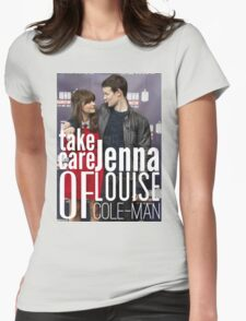 Take Care Of Jenna Womens Fitted T-Shirt