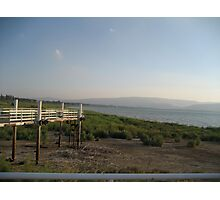 Sea of Galilee View from Kibbutz - Israel Photographic Print