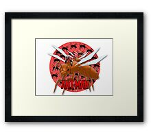 The small hero! Framed Print